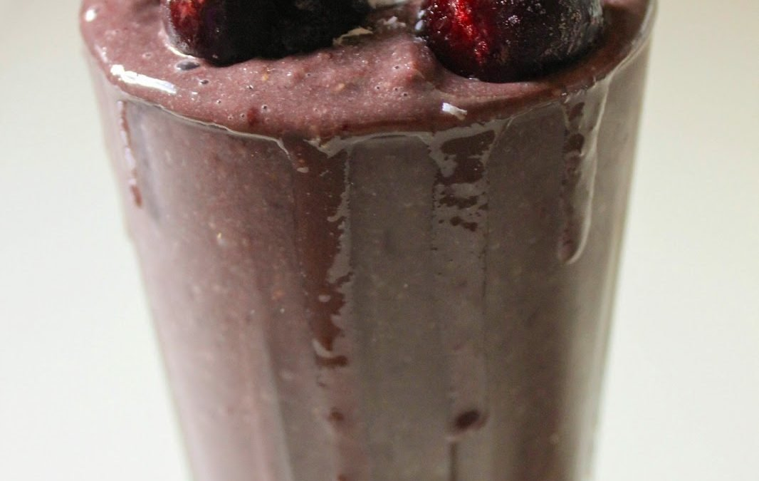 Chocolate Cherry Bomb Smoothie
