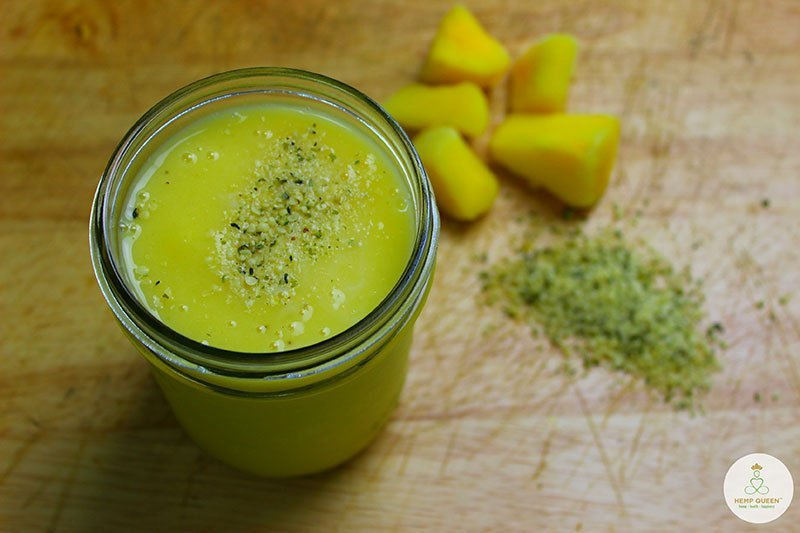 Pineapple Hempress Smoothie