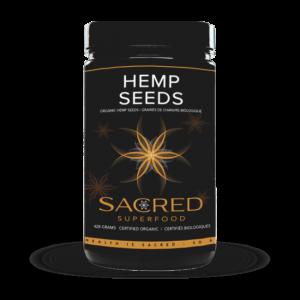 Hemp Seeds Shot